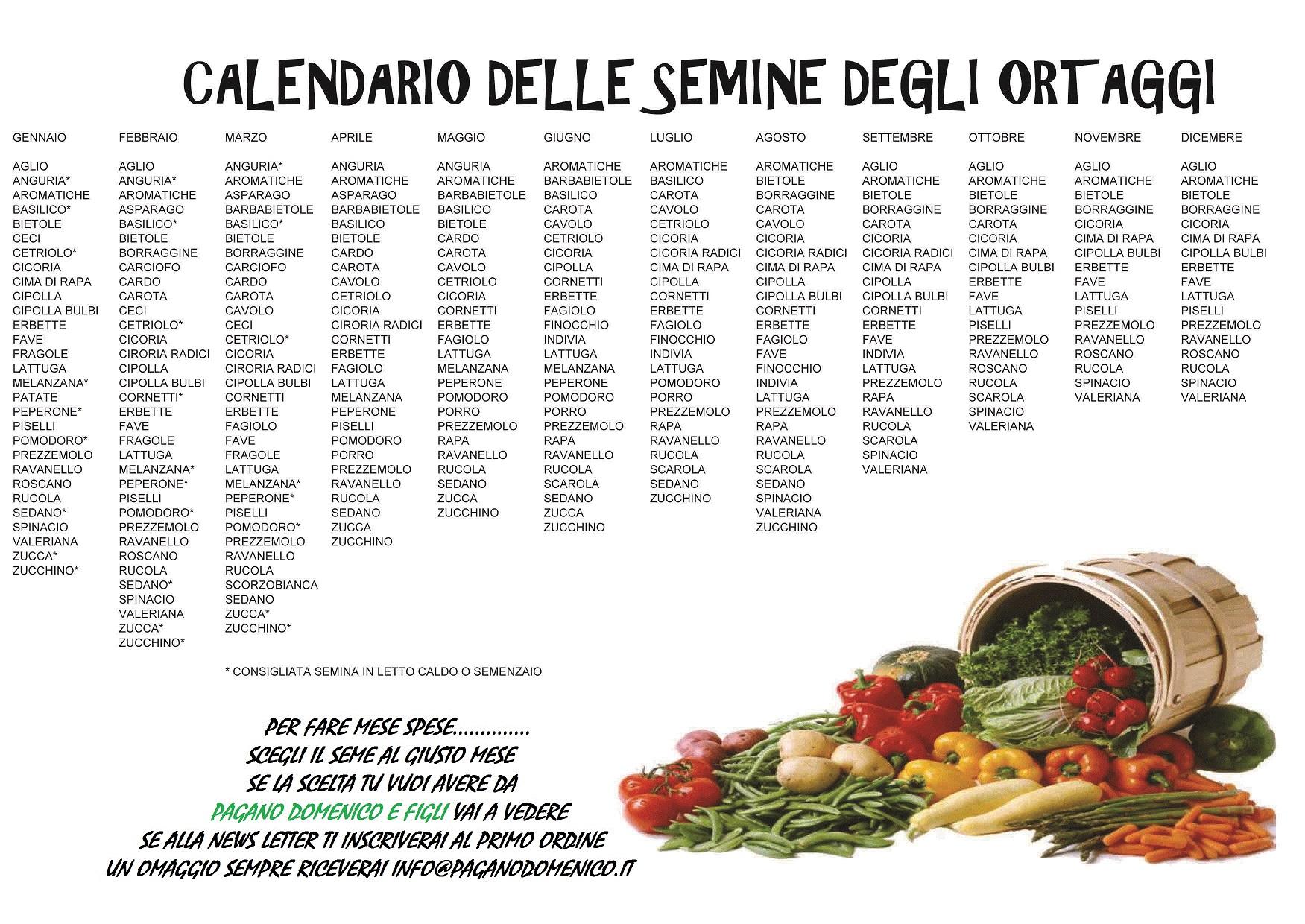 Calendario lunare delle semine e dei lavori 2012 read book - Calendario semina fiori ...